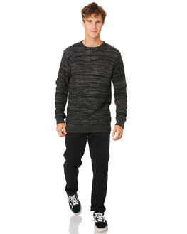 CHARCOAL GREY MENS CLOTHING RIP CURL KNITS + CARDIGANS - CSWED10084