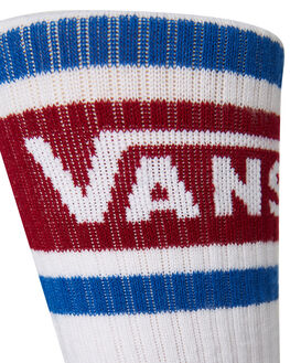 WHITE RHUMBA RED MENS CLOTHING VANS SOCKS + UNDERWEAR - VNA3H3GTD3WHRR