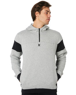 GREY HEATHER MENS CLOTHING HURLEY JUMPERS - AJ2232063