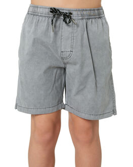 STONE GREY KIDS BOYS SWELL BOARDSHORTS - S3184234STGRY