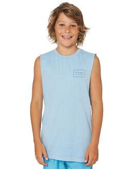 BLUE ICE KIDS BOYS RIP CURL TOPS - KTEMD25294