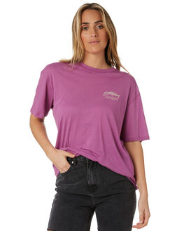 ORCHID WOMENS CLOTHING STUSSY TEES - ST193008ORCH
