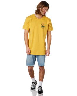 MUSTARD MENS CLOTHING THE LOBSTER SHANTY TEES - LBSOKEMUST