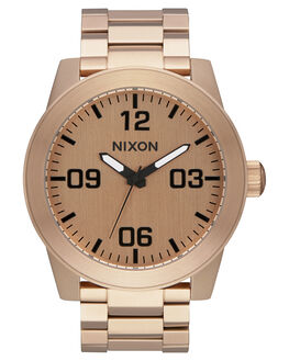 ALL ROSE GOLD MENS ACCESSORIES NIXON WATCHES - A346897