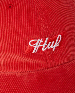 RED MENS ACCESSORIES HUF HEADWEAR - HT00367RED