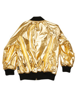 GOLD KIDS GIRLS ROCK YOUR KID JUMPERS + JACKETS - TGJ2011-MGGLD