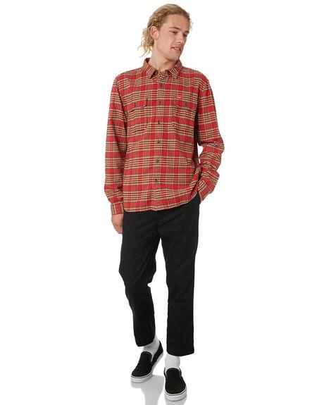 RED CHECK OUTLET MENS WRANGLER SHIRTS - 901559J04