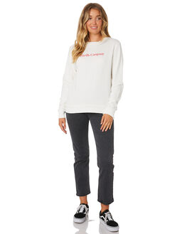 DIRTY WHITE WOMENS CLOTHING THRILLS JUMPERS - WTA9-205ADWHT