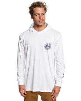 WHITE MENS CLOTHING QUIKSILVER TEES - EQYZT05235-WBB0