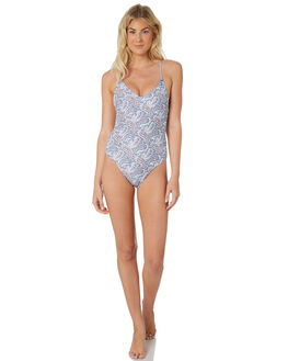 PAISLEY PRINT WOMENS SWIMWEAR ALL ABOUT EVE ONE PIECES - 6428015PSL