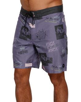 PURPLE MENS CLOTHING RVCA BOARDSHORTS - R391410PUR