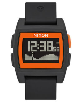 BLACK ORANGE JJF MENS ACCESSORIES NIXON WATCHES - A11042758