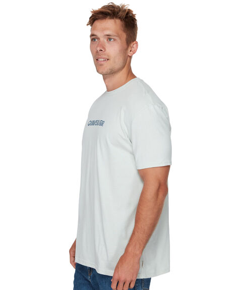 SKY GRAY MENS CLOTHING QUIKSILVER TEES - EQYZT05184BEY0