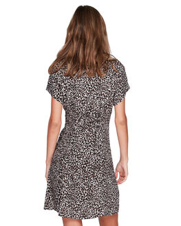 BROWN WOMENS CLOTHING ELEMENT DRESSES - EL-294865-BRN