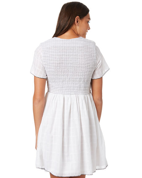 WHITE OUTLET WOMENS THE HIDDEN WAY DRESSES - H8183451WHITE