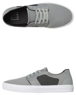 GREY BLACK MENS FOOTWEAR ETNIES SKATE SHOES - 4101000490GRYB