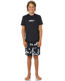 BLACK BOARDSPORTS SURF HURLEY BOYS - CJ6759010