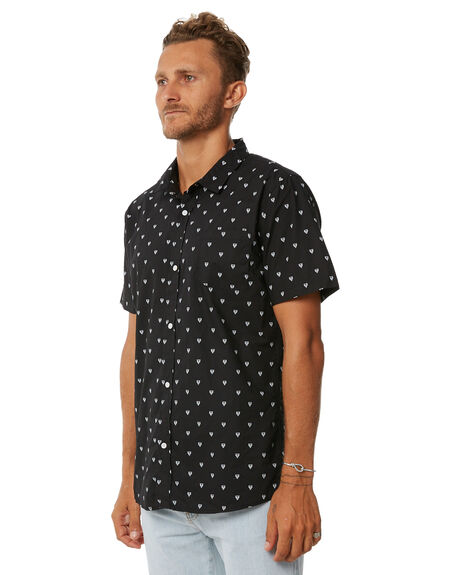 BLACK MENS CLOTHING SWELL SHIRTS - S5171169BLACK