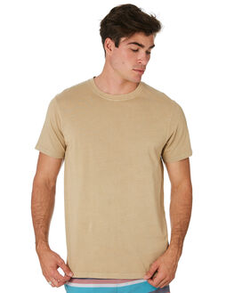 KHAKI MENS CLOTHING RIP CURL TEES - CTESZ20064