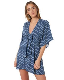 NAVY WOMENS CLOTHING RIP CURL DRESSES - GDRNB90049
