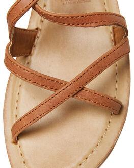 TAN WOMENS FOOTWEAR ROC BOOTS AUSTRALIA FASHION SANDALS - BAYOUTAN