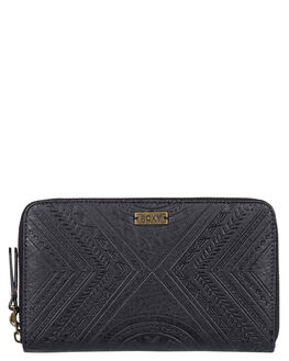 ANTHRACITE WOMENS ACCESSORIES ROXY PURSES + WALLETS - ERJAA03634-KVJ0