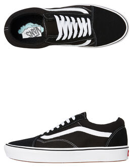 BLACK WOMENS FOOTWEAR VANS SNEAKERS - SSVNA3WMAVNEW