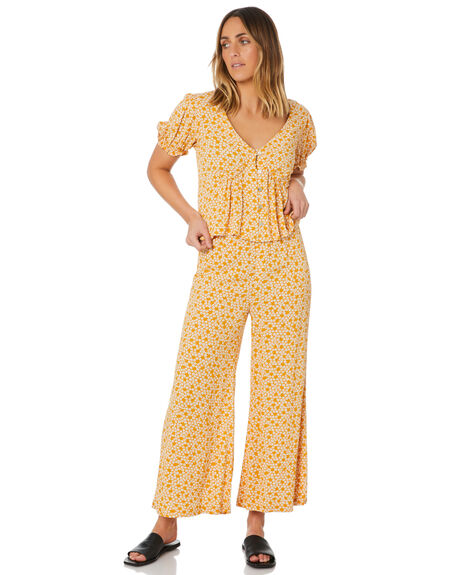 SANDY COVE FLORAL WOMENS CLOTHING THE HIDDEN WAY PANTS - H8211193SCVFL