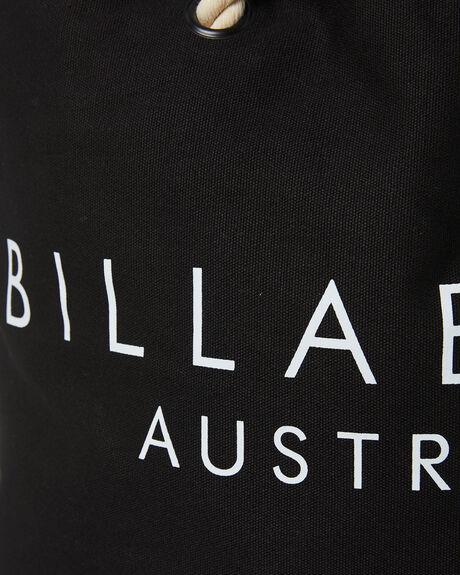 BLACK WOMENS ACCESSORIES BILLABONG BAGS + BACKPACKS - 6613101ABLK