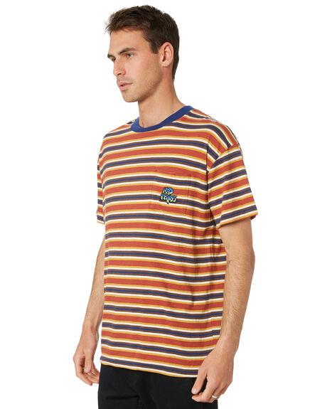 RUST MENS CLOTHING MISFIT TEES - MT011101RST