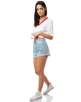 WASHED BLUE WOMENS CLOTHING THE FIFTH LABEL SHORTS - 40180245WSHBL