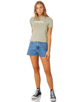 GREEN WOMENS CLOTHING INSIGHT TEES - 1000083357GRN