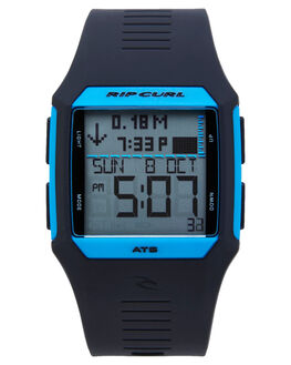 BLUE BLACK MENS ACCESSORIES RIP CURL WATCHES - A11193483
