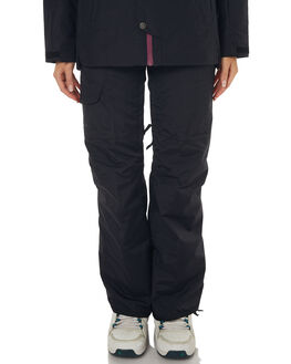 TNF BLACK SNOW OUTERWEAR THE NORTH FACE PANTS - NF0A3337JK3RBLK