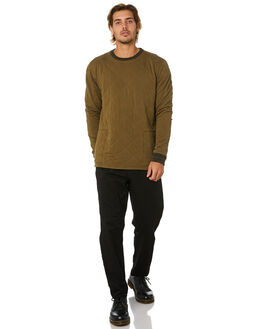 UTILITY GREEN MENS CLOTHING BANKS JUMPERS - WFL0235UTG