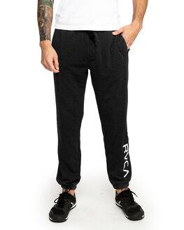 BLACK MENS CLOTHING RVCA PANTS - RV-R393276-BLK