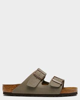 STONE WOMENS FOOTWEAR BIRKENSTOCK FASHION SANDALS - 151211WSTO