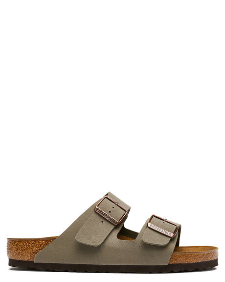 STONE WOMENS FOOTWEAR BIRKENSTOCK FASHION SANDALS - 151211WSTO