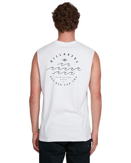 WHITE MENS CLOTHING BILLABONG SINGLETS - BB-9503505-WHT