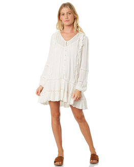 IVORY WOMENS CLOTHING FREE PEOPLE DRESSES - OB8864551103