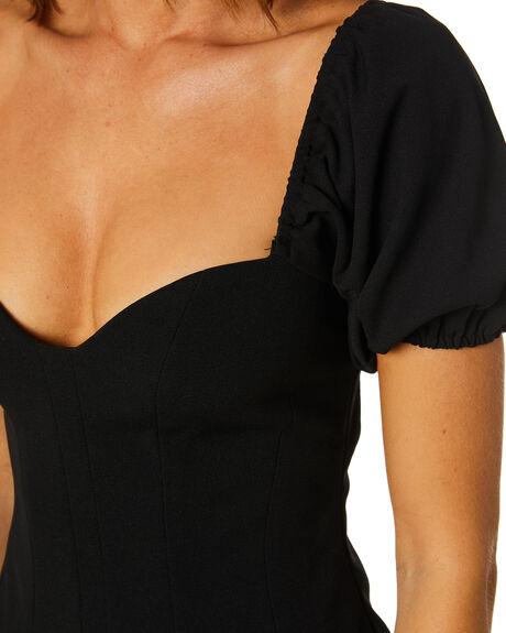 BLACK WOMENS CLOTHING SNDYS DRESSES - SFD380BLK