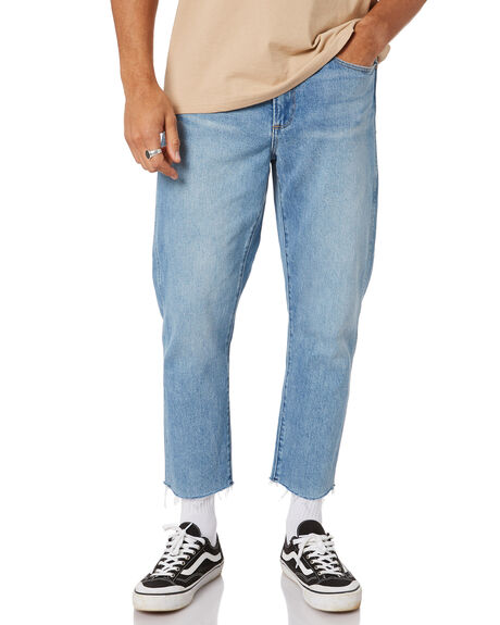 REMEDY BLUE MENS CLOTHING WRANGLER JEANS - W-901996-PW9