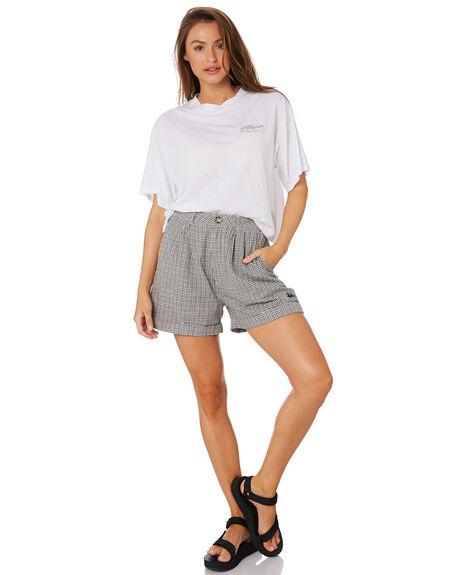 WHITE WOMENS CLOTHING STUSSY TEES - ST105002WHT