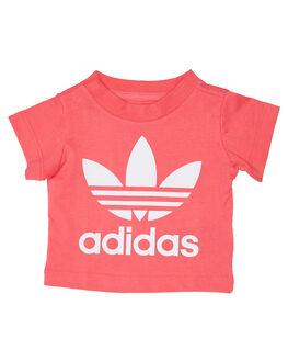 PINK WHITE KIDS BABY ADIDAS CLOTHING - ED7682PNKWT
