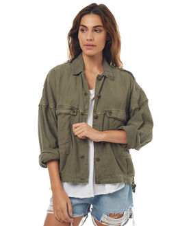 MOSS WOMENS CLOTHING FREE PEOPLE JACKETS - OB7120763358