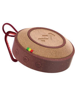 RED MENS ACCESSORIES MARLEY AUDIO + CAMERAS - EMJA015-RD