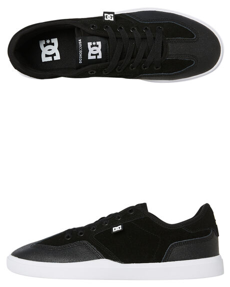 BLACK MENS FOOTWEAR DC SHOES SNEAKERS - ADYS100444XKWW