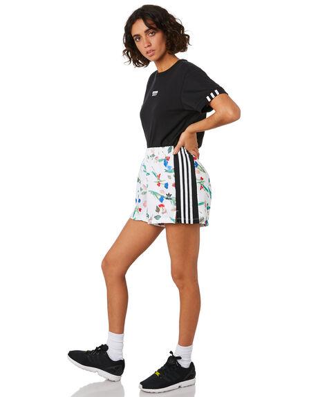 MULTICOLOUR WOMENS CLOTHING ADIDAS SHORTS - ED4761MULTI