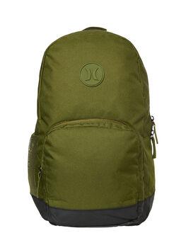 LEGION GREEN MENS ACCESSORIES HURLEY BAGS + BACKPACKS - HU0005331