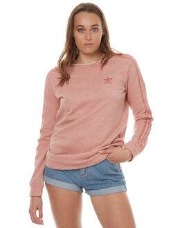 RAW PINK WOMENS CLOTHING ADIDAS ORIGINALS JUMPERS - BR9288RPNK